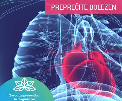 Zavodu za preventivo in diagnostiko: screening telesa