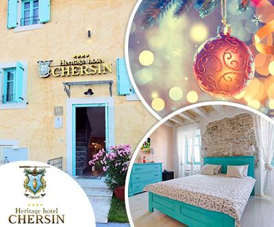 Heritage hotel Chersin 4*, Fažana: božič in novo leto