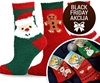 3 pari toplih božicnih nogavic