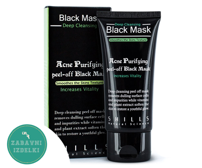 Visokokvalitetna crna maska Black Mask (50 ml)