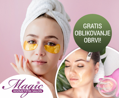 Kozmetični salon Magic: kraljevska nega obraza (90 min)