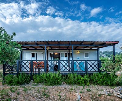Kamp Kopito, Hvar: mobilna hiška