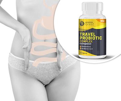 60 kapsul Travel Probiotic Complex