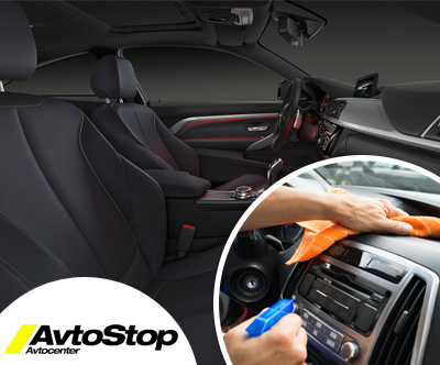 Avtocenter AvtoStop: čiščenje avtosedežev
