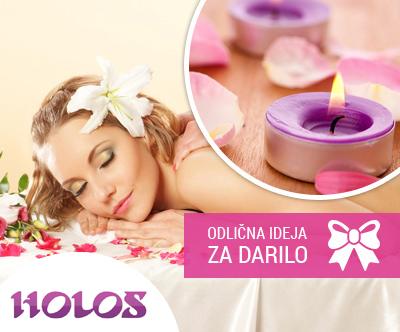 Salon Holos, klasicna masaža telesa, 60 min.