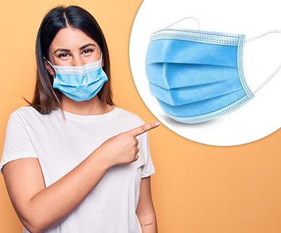 1x komplet 50 kosov trislojnih kirurških mask
