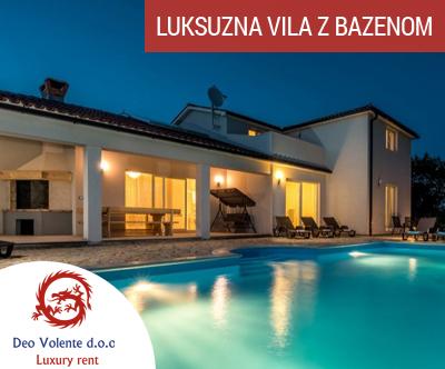 Villa Alison, Šumber, Istra: luksuzna vila za 12 oseb
