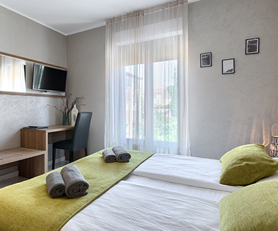 Pula City Center Accommodation 4*: oddih v Puli
