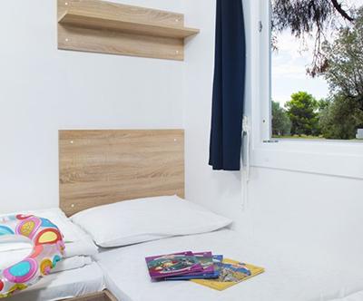 Kamp Pineta, Fažana: mobilne hiške v Istri