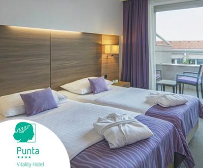 Vitality hotel Punta 4*, Veli Lošinj: pomladni oddih