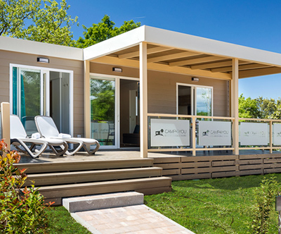 Lanterna Premium Camping Resort 4*: mobilna hišica