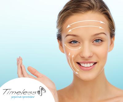 Timeless center, tretma nekirurškega pomlajevanja obraz